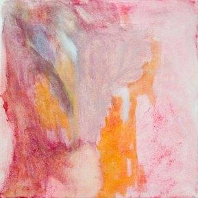 Ibrahim Ferrer y Omara Portuondo: Silencio,30 x 30 cm, öljy kankaalle, 2012