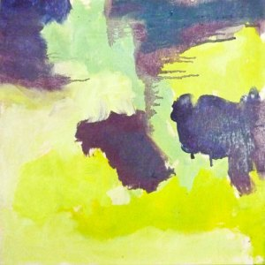 Tom Waits: 2:19, 30 x 30 cm, öljy vanerille, 2012