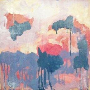 Astor Piazzolla: Triunfal, 30 x 30 cm, öljy vanerille, 2012