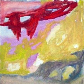 Thelonious Monk: Humph, 30 x 30 cm, öljy kankaalle, 2012