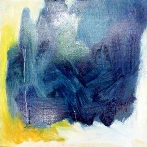 Wolfgang Amadeus Mozart: Lacrimosa, 30 x 30 cm, öljy vanerille, 2012