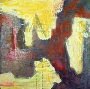 Sonny Burke: Black Coffee, 30 x 30 cm, öljy ja tempera vanerille, 2012