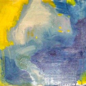 Trifon Trifonov: Mari Maro, 30 x 30 cm, öljy ja tempera kankaalle, 2012