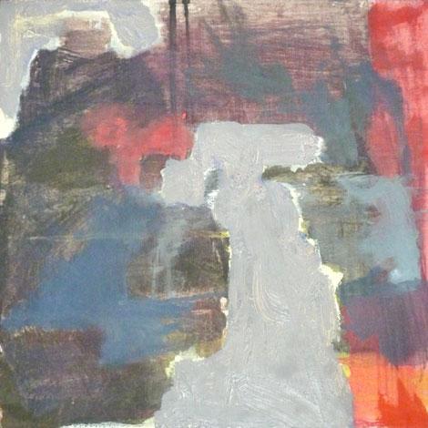 Tom Waits: Walk Away, 30 x 30 cm, öljy ja tempera vanerille, 2012