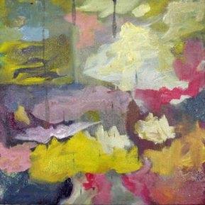 Omara Portuondo: Quizas quizas, 30 x 30 cm, öljy kankaalle, 2012