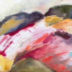 Kökar 2 , öljy kankaalle, 2012